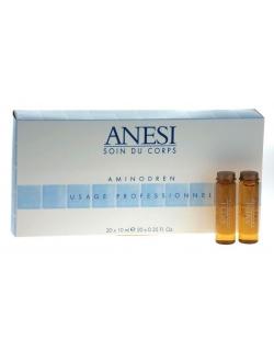 Ампулы Аминодрен с сывороткой для уменьшения объема, 20 шт х10 мл - Anesi Aminodren