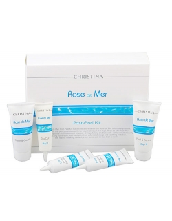 Rose De Mer Post Peeling Kit - Набор Роз де Мер для постпилингового ухода (5 препаратов)