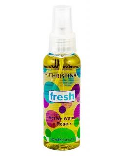 Активная розовая вода для усталой кожи - Fresh-Active Rose Water