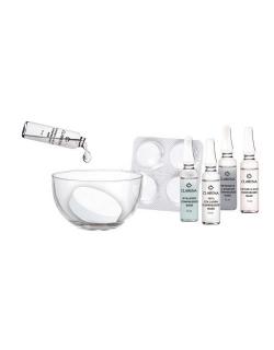 4-х недельный курс для стимуляции и восстановления кожи -  4 professional beaty therapy. Набор - 4 маски в таблетках, 4 ампулы с сывороткой, 1 стеклянная емкость