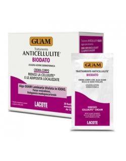 Антицеллюлитный крем для тела с повышенным содержанием йода - Trattamento Anticellulite BIODATO Crema Corpo, 20х12мл