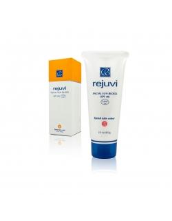"Rejuvi ""s"" Facial Sun Block(SPF 40/Tinted) - Солнцезащитный крем для лица (матирующий)"