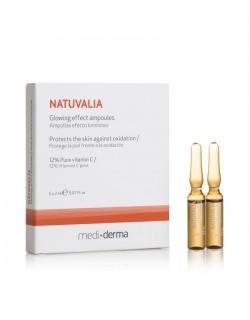 Ампулы «Внутреннее свечение» - NATUVALIA glowing effect, 5 х 2 мл